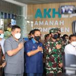Panglima TNI Tinjau Vaksinasi untuk  Lansia Cilacap