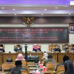 Wakil Bupati Cilacap Hadiri Rapat Paripurna DPRD dengan Agenda Penyampaian Pandangan Fraksi DPRD Terhadap Usulan Raperda Bupati